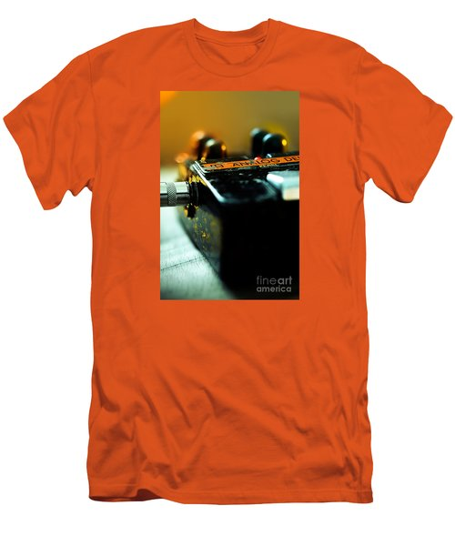 Guitar Pedal Men's T-Shirt (Athletic Fit)