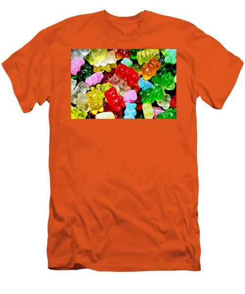 Gummy Bears Men's T-Shirt (Athletic Fit)