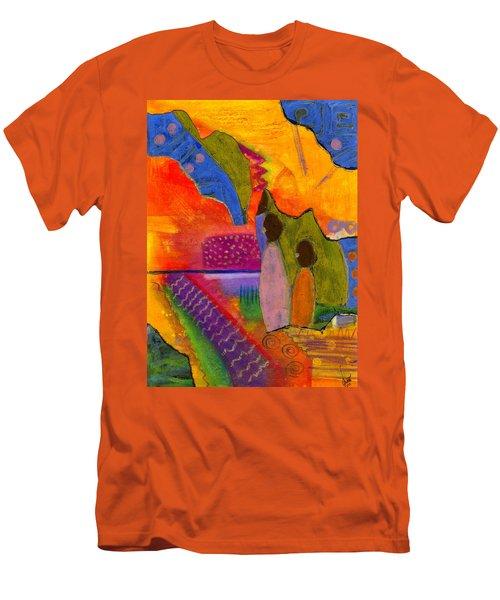 Hallelujah Praise Men's T-Shirt (Athletic Fit)