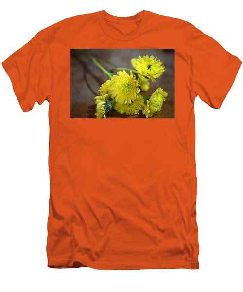 Men's T-Shirt (Slim Fit) featuring the photograph Handful For You by Deborah  Crew-Johnson