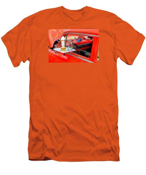 Happy Days Men's T-Shirt (Slim Fit) by Louis Ferreira