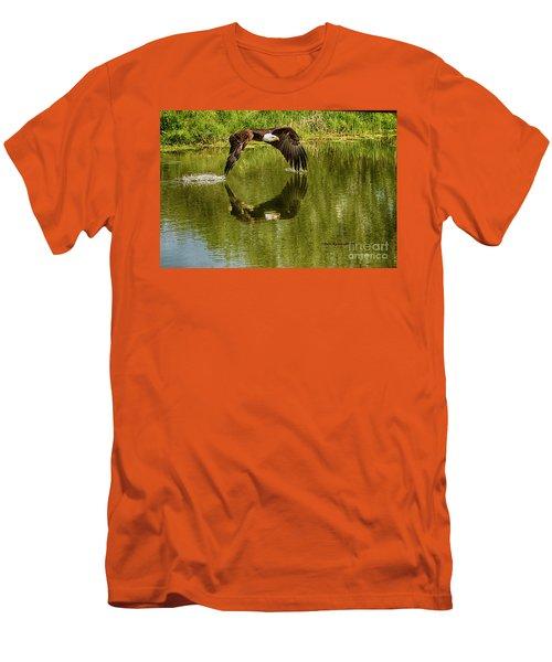 Having A Dip Men's T-Shirt (Athletic Fit)