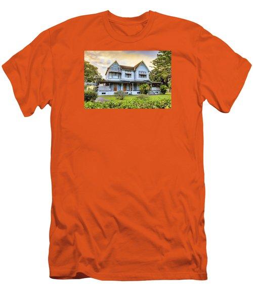 Hayes Court Men's T-Shirt (Slim Fit) by Nadia Sanowar
