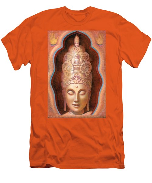 Healing Tara Men's T-Shirt (Athletic Fit)