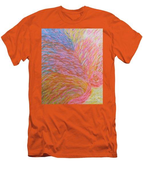 Heart Burst Men's T-Shirt (Slim Fit) by Rachel Hannah