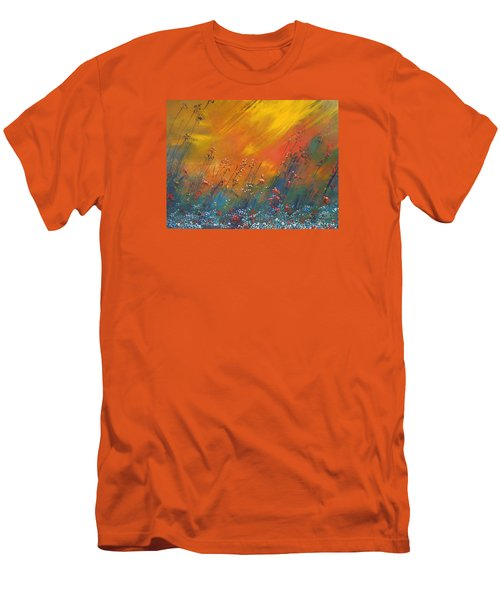 Heartland  Men's T-Shirt (Slim Fit) by Dan Whittemore