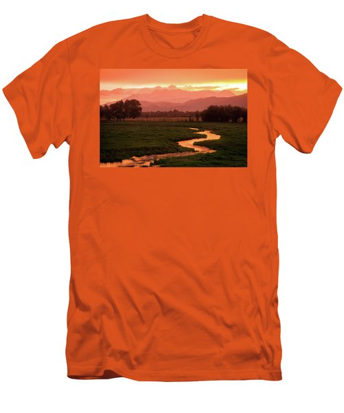 Heber Valley Golden Sunset Men's T-Shirt (Athletic Fit)