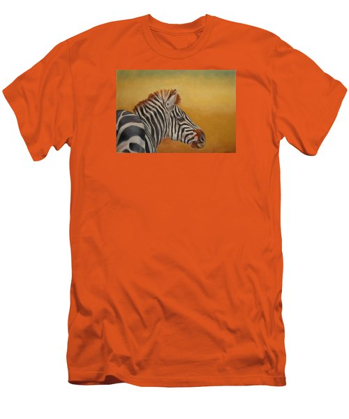 Men's T-Shirt (Slim Fit) featuring the painting Hello Africa by Ceci Watson