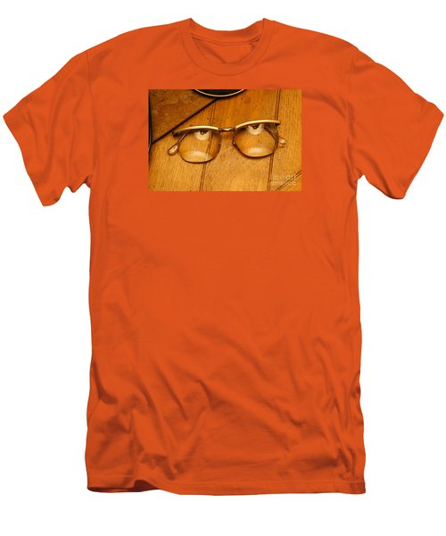 Here's Looking At You Men's T-Shirt (Slim Fit) by Paul  Wilford