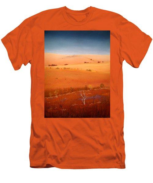 High Plains Hills Men's T-Shirt (Slim Fit) by William Renzulli