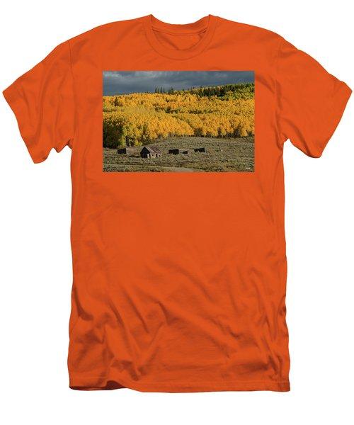 Hills Afire Men's T-Shirt (Slim Fit) by Dana Sohr