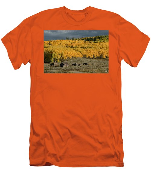 Hills Afire Men's T-Shirt (Athletic Fit)