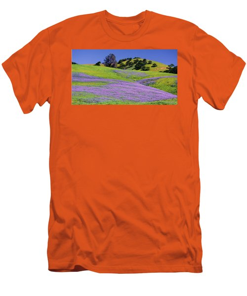 Hillside Carpet Men's T-Shirt (Slim Fit) by Josephine Buschman