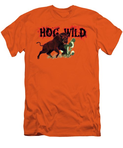 Hog Wild Tee Men's T-Shirt (Athletic Fit)