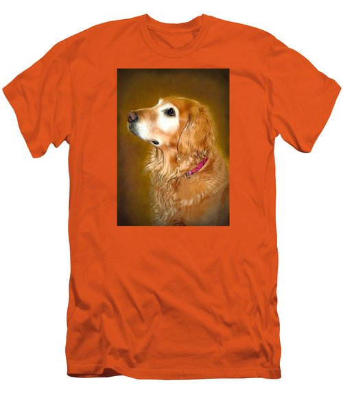 Holly Men's T-Shirt (Slim Fit) by Marion Johnson