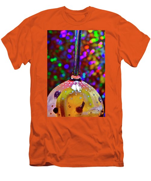 Men's T-Shirt (Slim Fit) featuring the photograph Holographic Fruit Drop by Xn Tyler