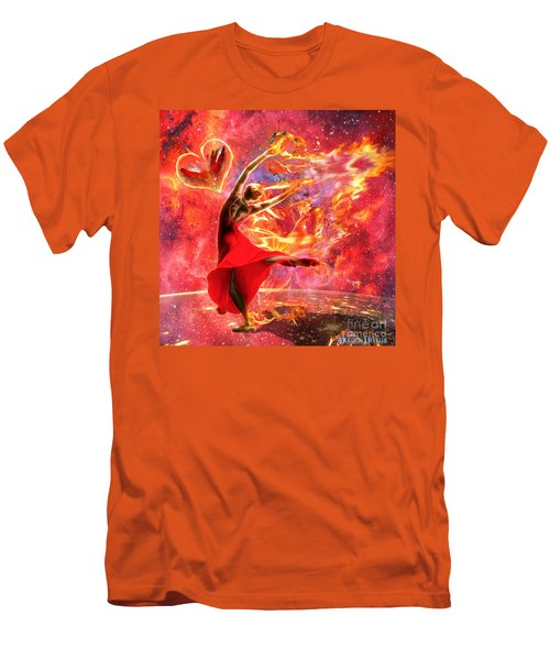 Holy Spirit Fire Men's T-Shirt (Athletic Fit)