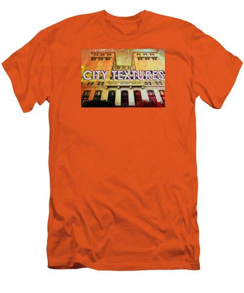 Hot City Textures Men's T-Shirt (Slim Fit) by John Fish