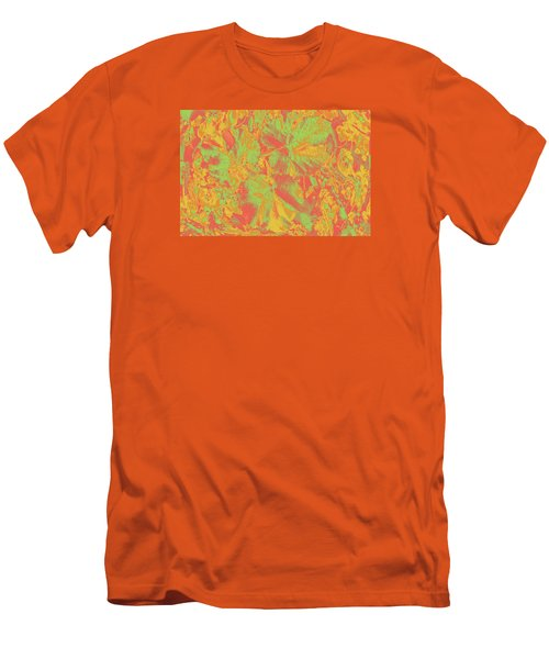 Men's T-Shirt (Athletic Fit) featuring the photograph Hot Shot Garden by Nareeta Martin