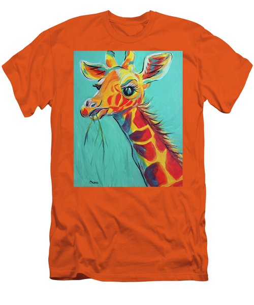 Hungry Giraffe Men's T-Shirt (Athletic Fit)