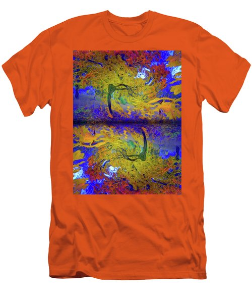 Men's T-Shirt (Slim Fit) featuring the photograph I Will Dance With You In This Storm by Tara Turner