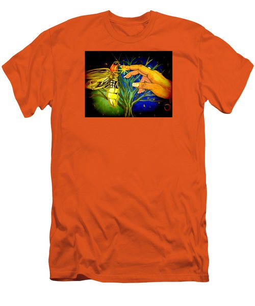 Illumination Men's T-Shirt (Slim Fit) by Alexandria Weaselwise Busen