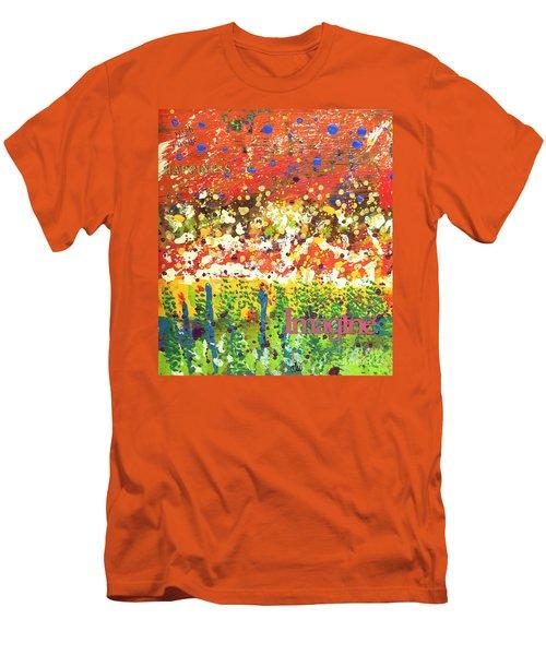 Imagine Happiness Men's T-Shirt (Athletic Fit)