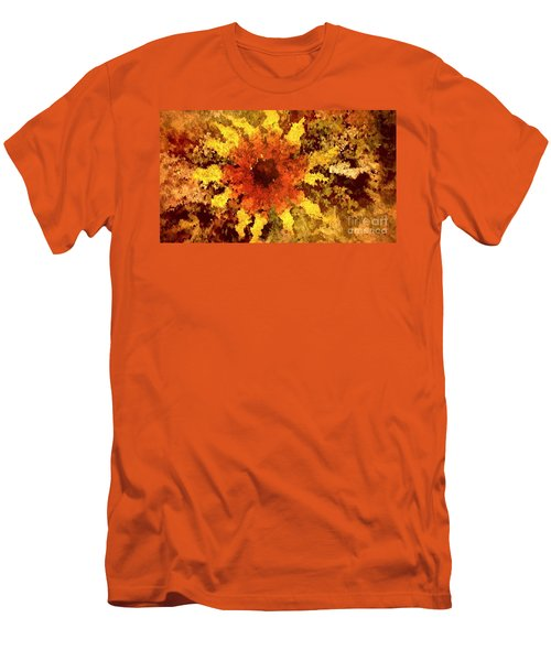 Impressionistic Petals Men's T-Shirt (Athletic Fit)