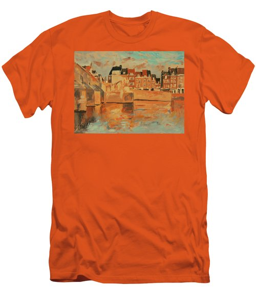 Indian Summer Sunday Sunset Men's T-Shirt (Athletic Fit)