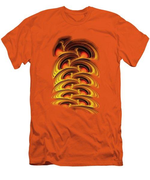 Inferno Men's T-Shirt (Slim Fit) by Anastasiya Malakhova