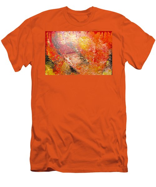 Inferno Men's T-Shirt (Slim Fit) by Jacqueline Athmann