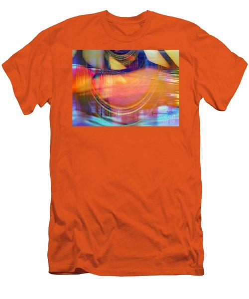 Men's T-Shirt (Slim Fit) featuring the digital art Inner View by Fania Simon