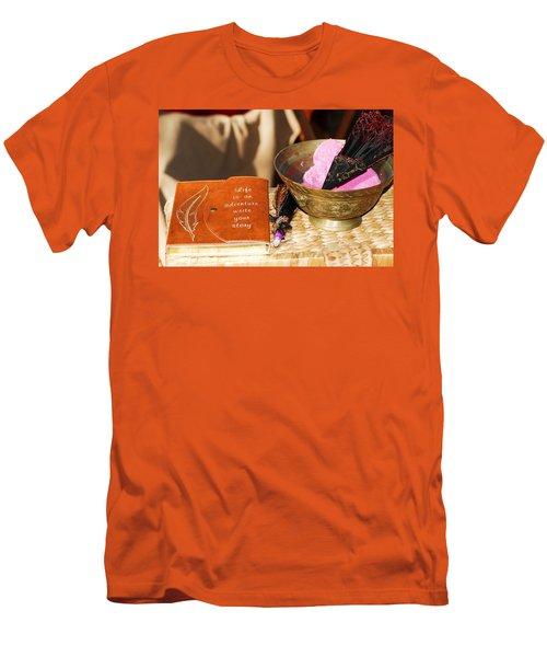 Inspiration For Living Men's T-Shirt (Athletic Fit)