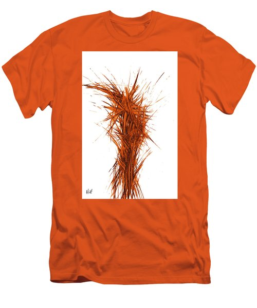 Men's T-Shirt (Athletic Fit) featuring the painting Intensive Abstract Painting 1029.050512 by Kris Haas