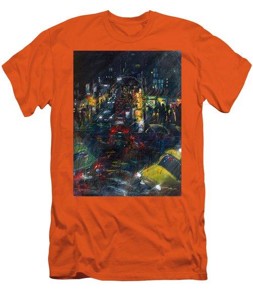 Intersection Men's T-Shirt (Slim Fit) by Leela Payne