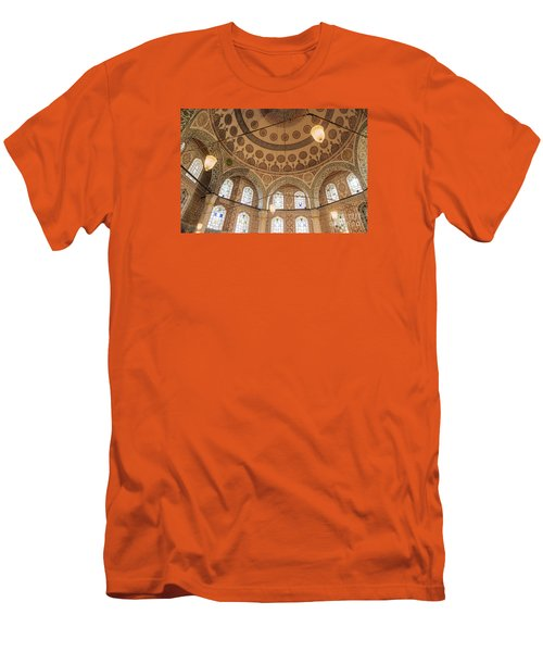 Men's T-Shirt (Slim Fit) featuring the photograph Into The Hagia Sophia Mausoleum by Yuri Santin