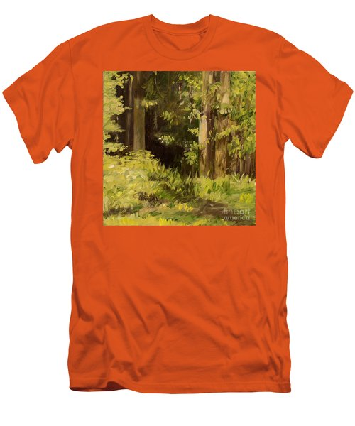 Into The Woods Men's T-Shirt (Slim Fit) by Laurie Rohner