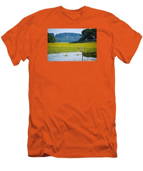 Ipswich Nature Preserve  Men's T-Shirt (Athletic Fit)