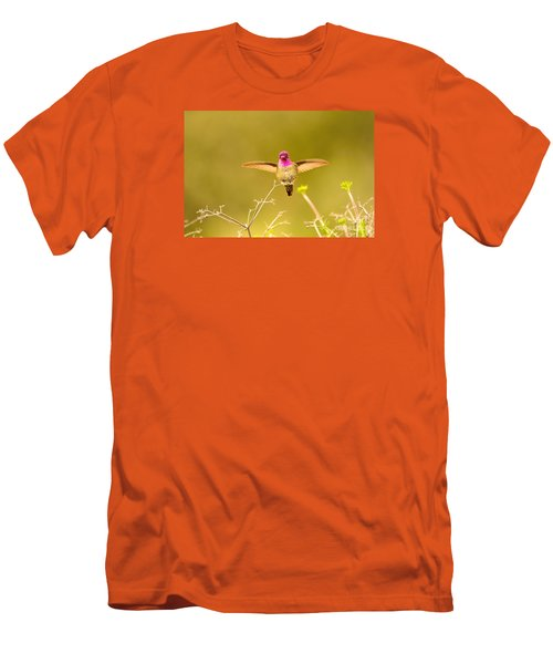 Men's T-Shirt (Athletic Fit) featuring the photograph Anna's Beauty   by John F Tsumas