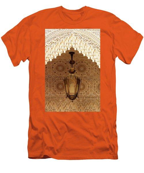 Islamic Plasterwork Men's T-Shirt (Slim Fit) by Ralph A  Ledergerber-Photography