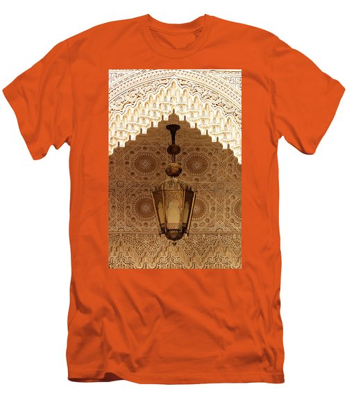 Islamic Plasterwork Men's T-Shirt (Athletic Fit)