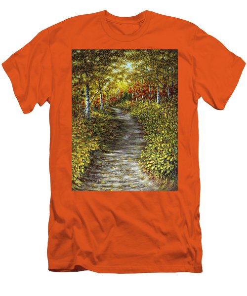 It Hiked Silver Bay Men's T-Shirt (Athletic Fit)