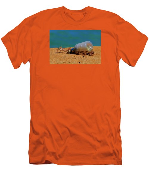 Men's T-Shirt (Slim Fit) featuring the photograph It's 5 O'clock Somewere by James McAdams