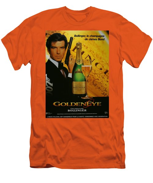 James Bond Ad 1995 Men's T-Shirt (Slim Fit) by Andrew Fare