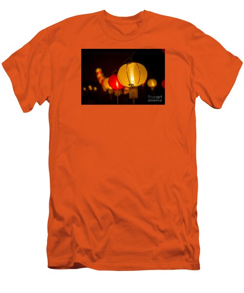 Japanese Lanterns 3 Men's T-Shirt (Athletic Fit)