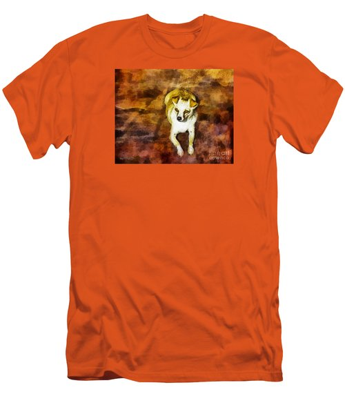 Jasper Men's T-Shirt (Slim Fit) by Rhonda Strickland