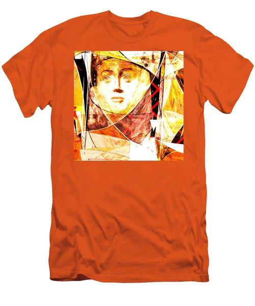 Je Aimerais Vivre Avec Vous Men's T-Shirt (Slim Fit) by Danica Radman