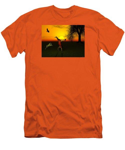Joy Men's T-Shirt (Slim Fit) by Michele Wilson