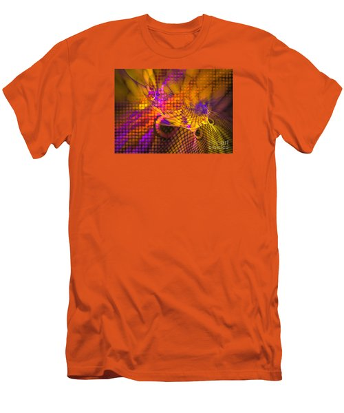 Joyride - Abstract Art Men's T-Shirt (Slim Fit) by Sipo Liimatainen