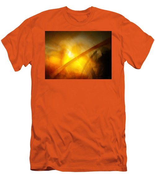 Men's T-Shirt (Slim Fit) featuring the digital art Just Light by Gun Legler